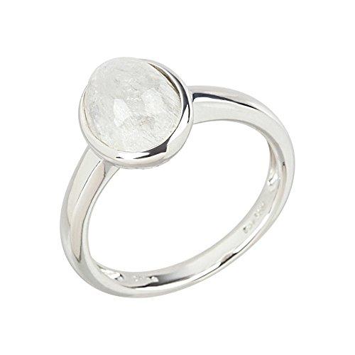 41IwPG+NSKL - Damen Regenbogen Mondstein Ring 925 Sterling Silber 57 - 18,0 mm Ø 2,50 ct.